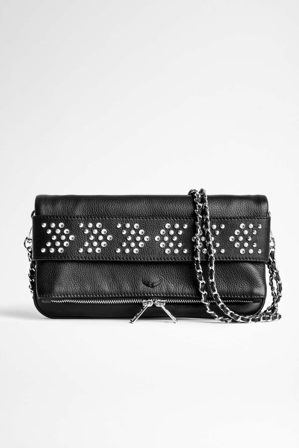 Rock Grained Arrow Studs Bag