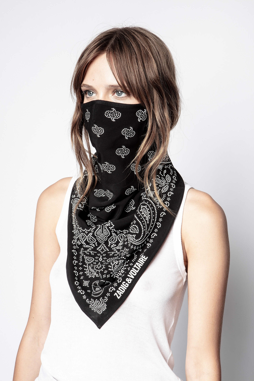 쟈딕앤볼테르 Zadig & Voltaire Foulard Bandana Mask