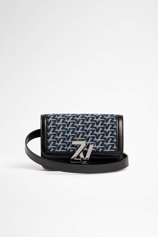 쟈딕 앤 볼테르 Zadig & Voltaire ZV Initiale Le Belt Bag,STEEL