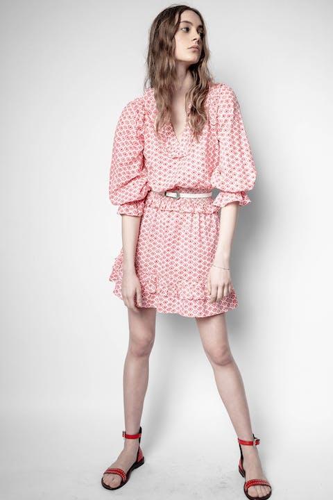 Rune Dobby Dress