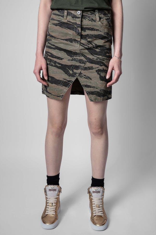 Jeu Camo Skirt