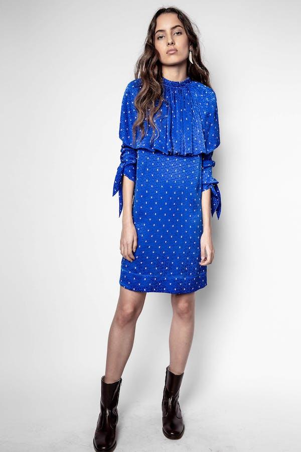 ZV Nico Jacquard Dress