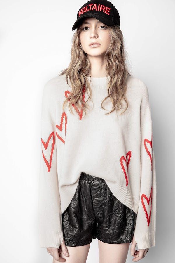 Markus Heart Cashmere Sweater
