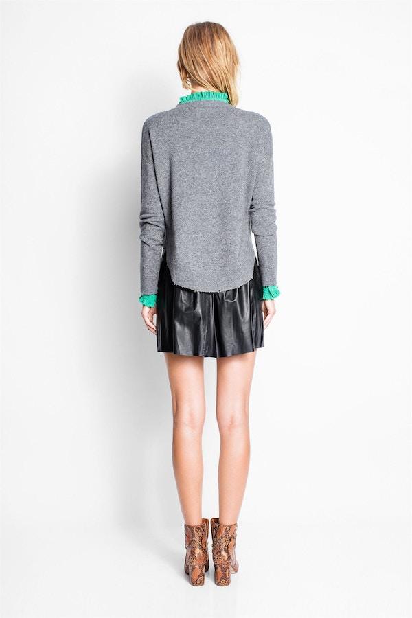 Judi Leather Deluxe Skirt