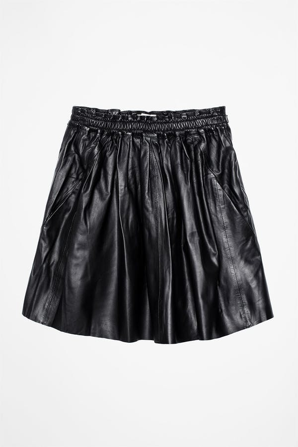 Judi Leather Deluxe Skirt