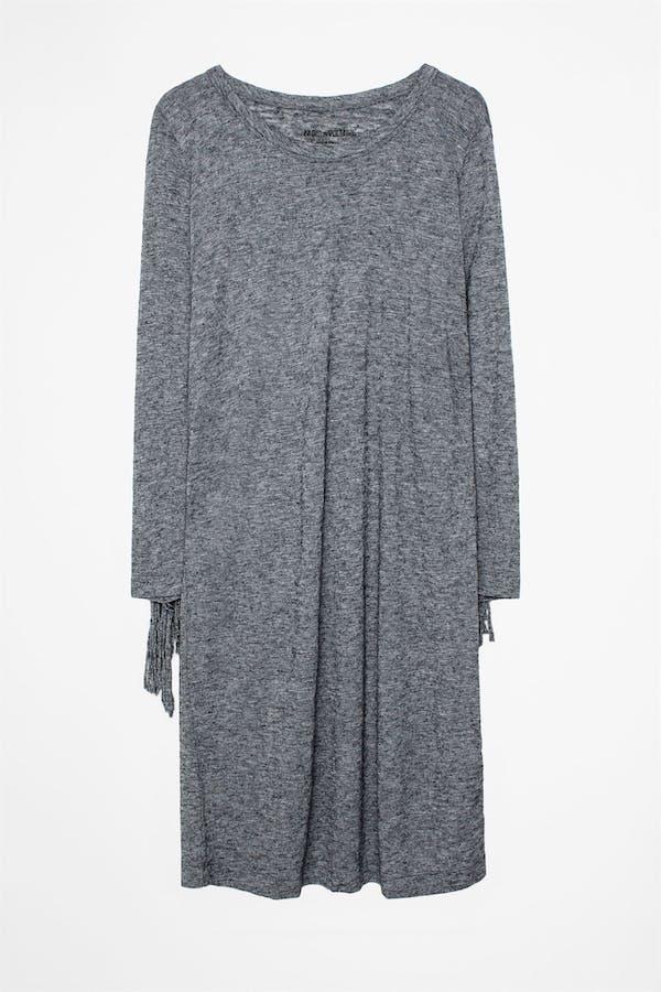 Winter Fringes Dress