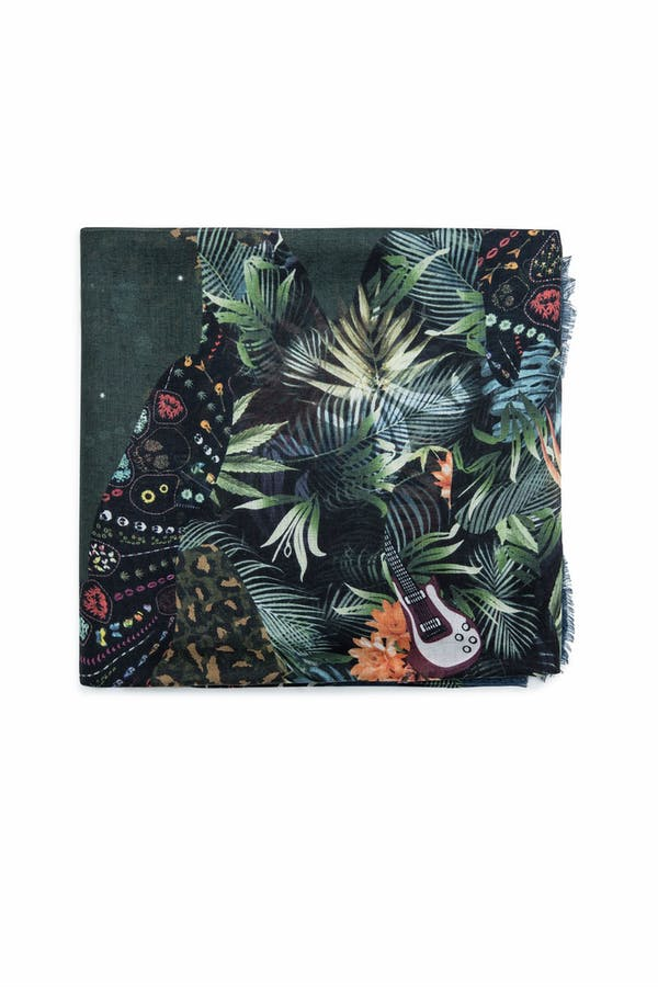 Maxy Patchwork Jungle Scarf
