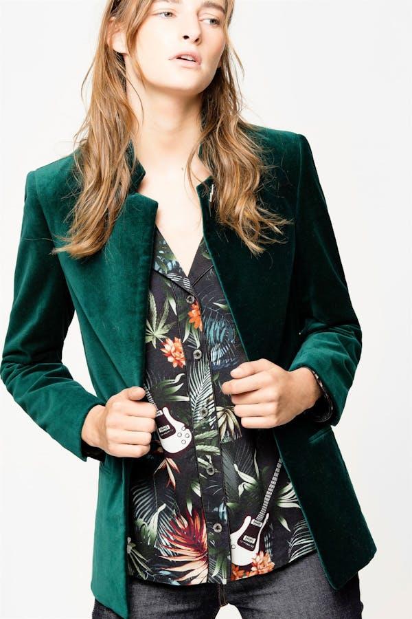 Vollys velvet jacket