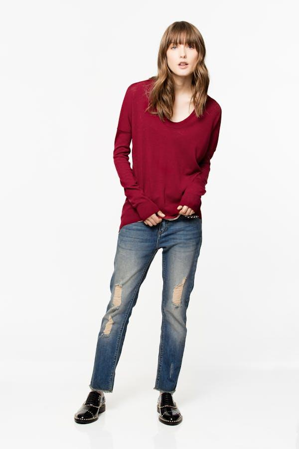 Preppy Merino sweater
