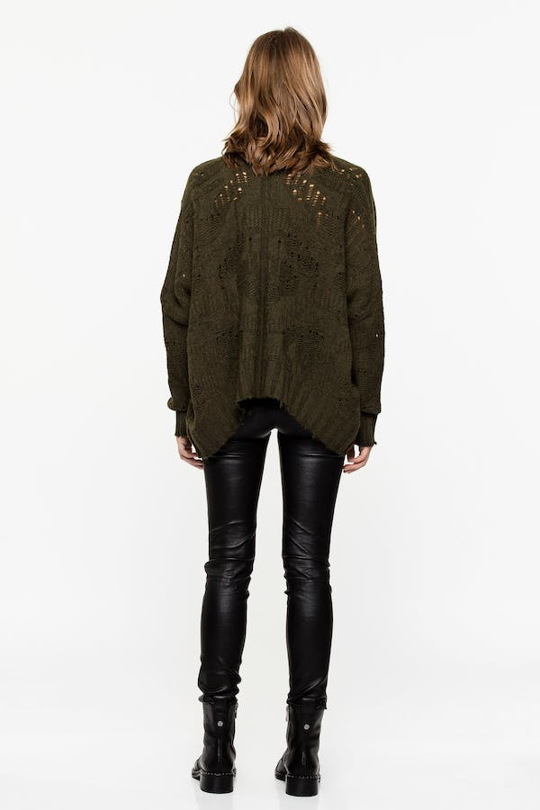 Tanya Camou Deluxe Cashmere cardigan