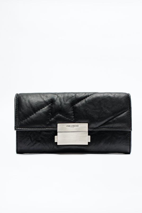 Compact Large Square Wallet