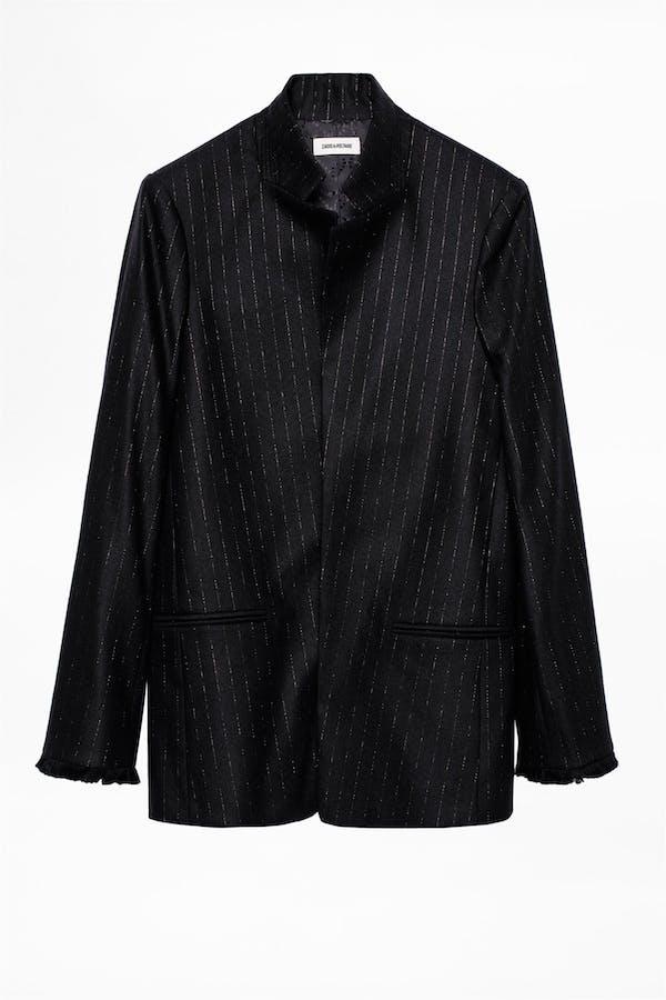Volly Stripes Franges Jacket