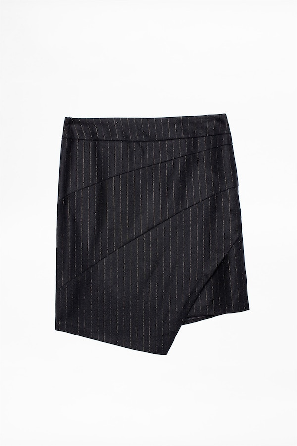 Just Pinstripe Skirt