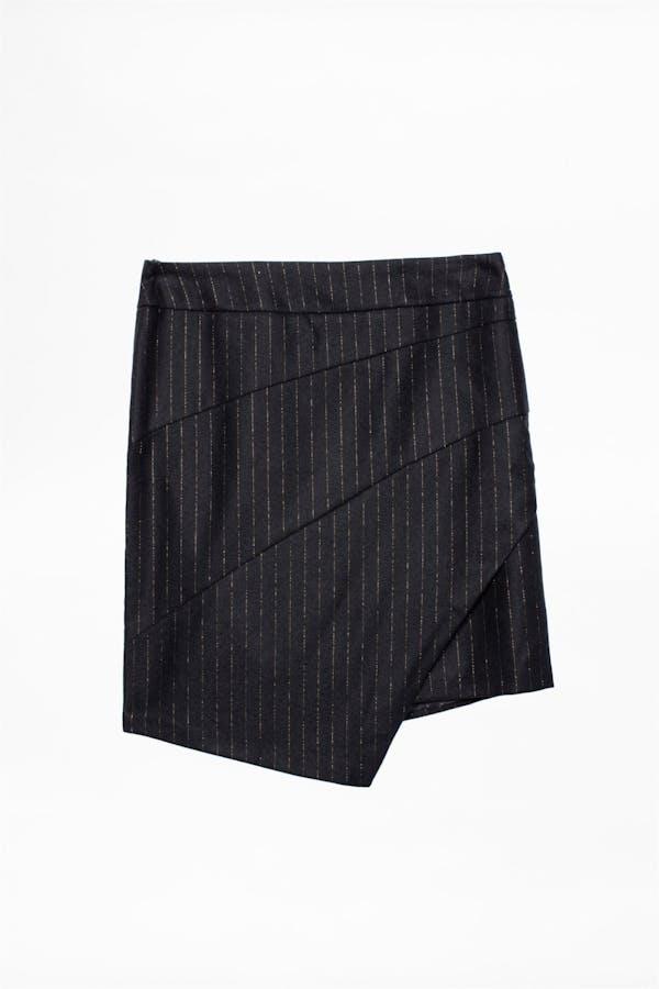 Just Pinstripe Skirt
