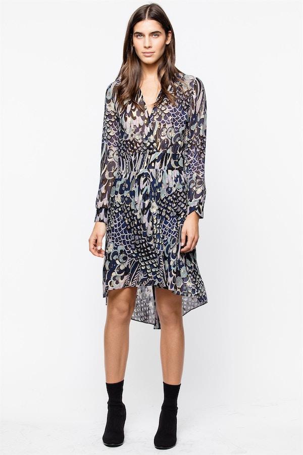 Roumy Lurex Dress