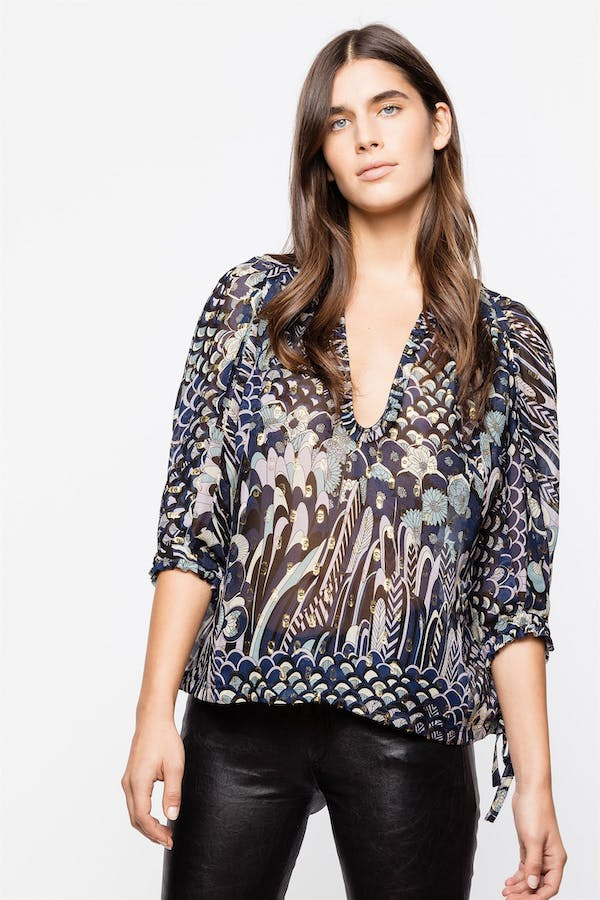 Terry Lurex Tunic
