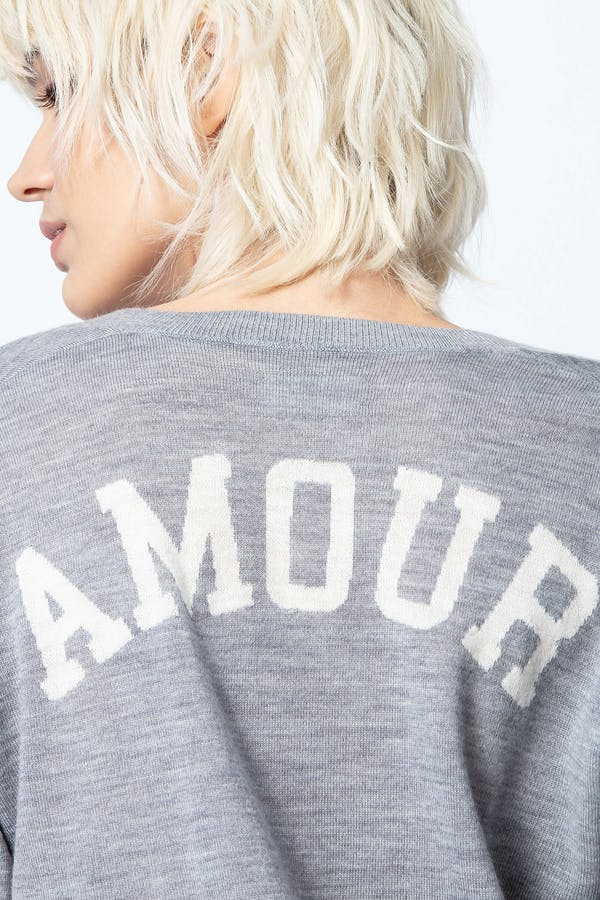 Happy Amour Cashmere Sweater