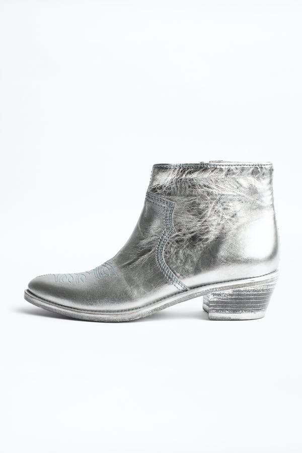 Pilar Low Ankle Boots