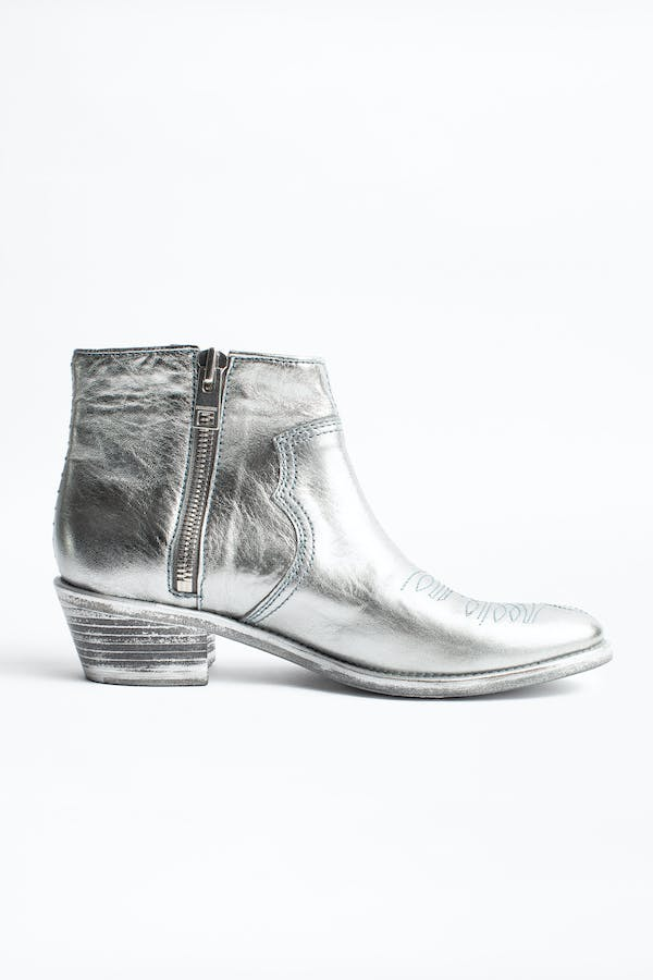 Pilar Low Ankle Boots