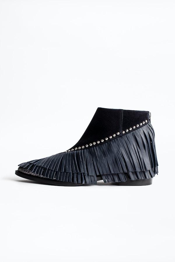 Mods Franges Ankle Boots