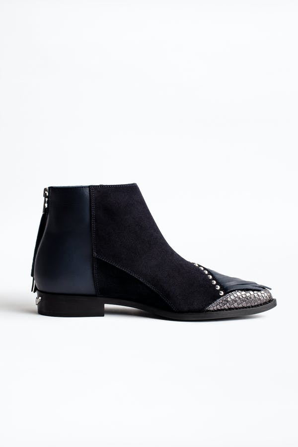 Mods Franges Ankle Boots