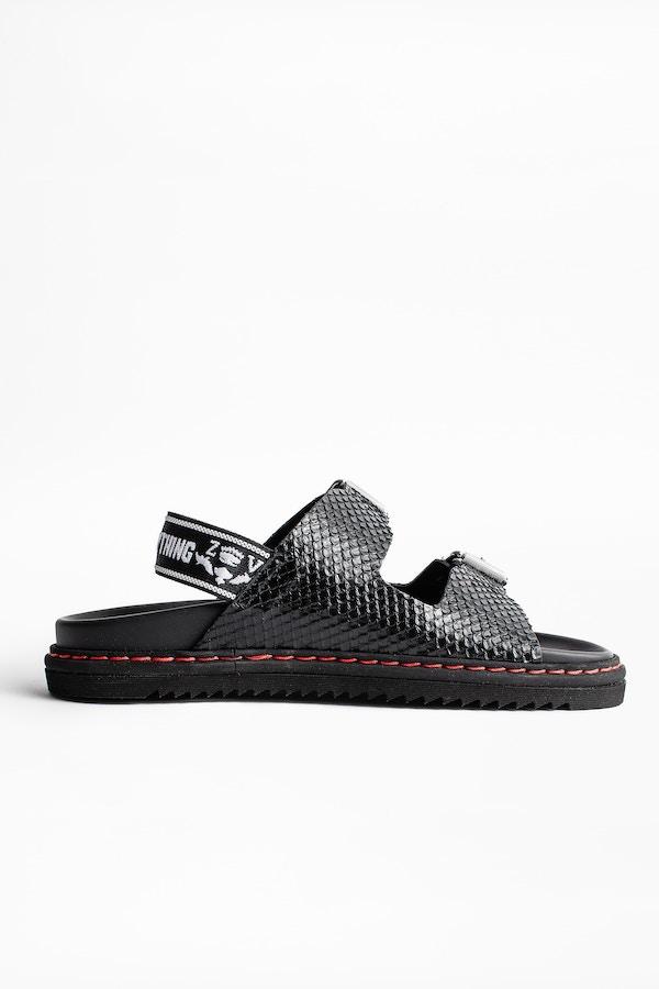 Alpha Grunge Sandals