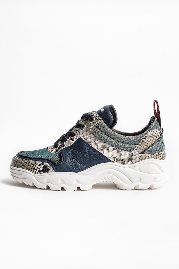 Blaze Lurex Sneakers