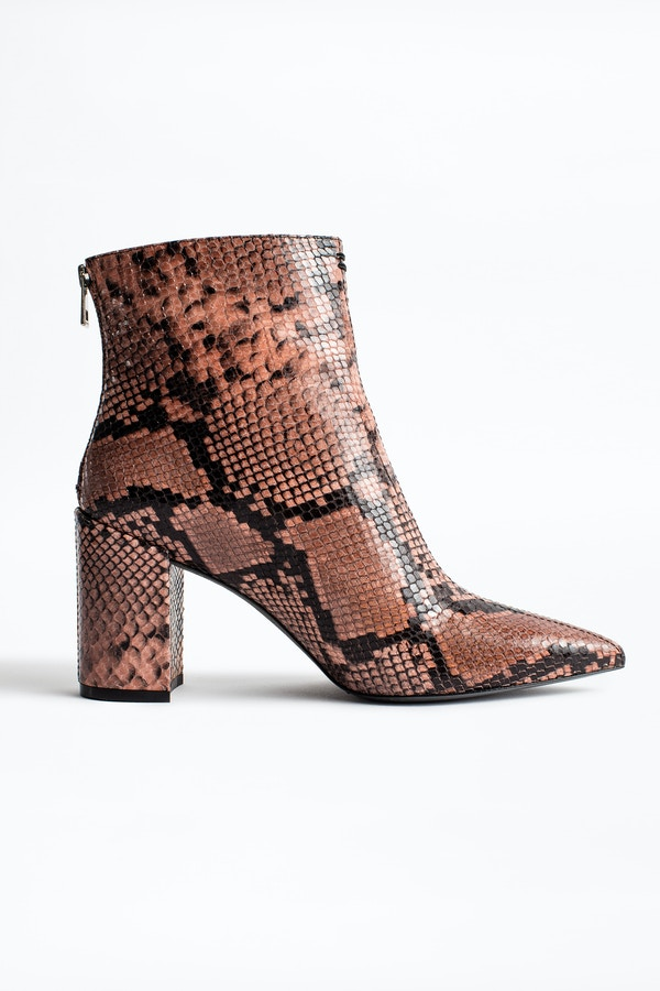 Glimmer Wild Ankle Boots