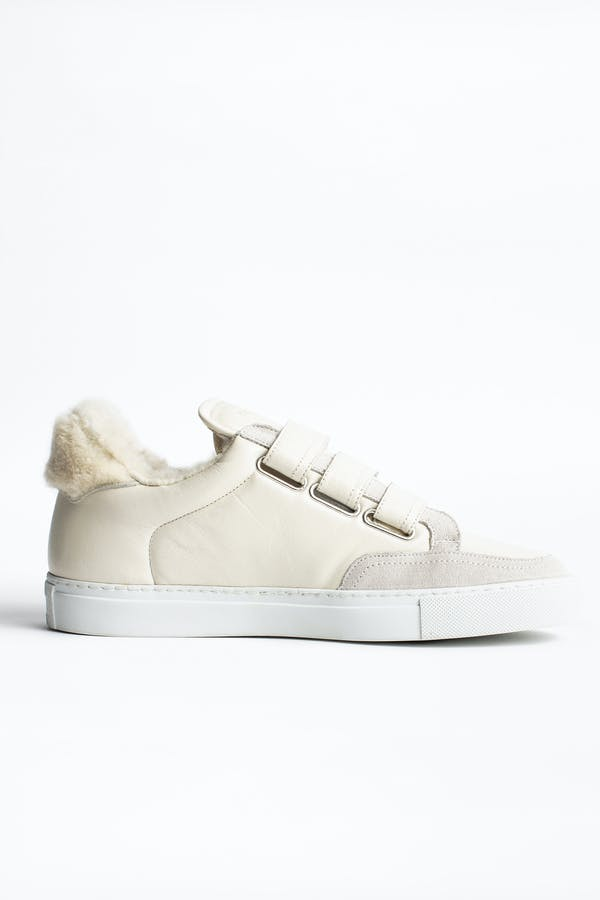 ZV1747 Shearling Sneakers