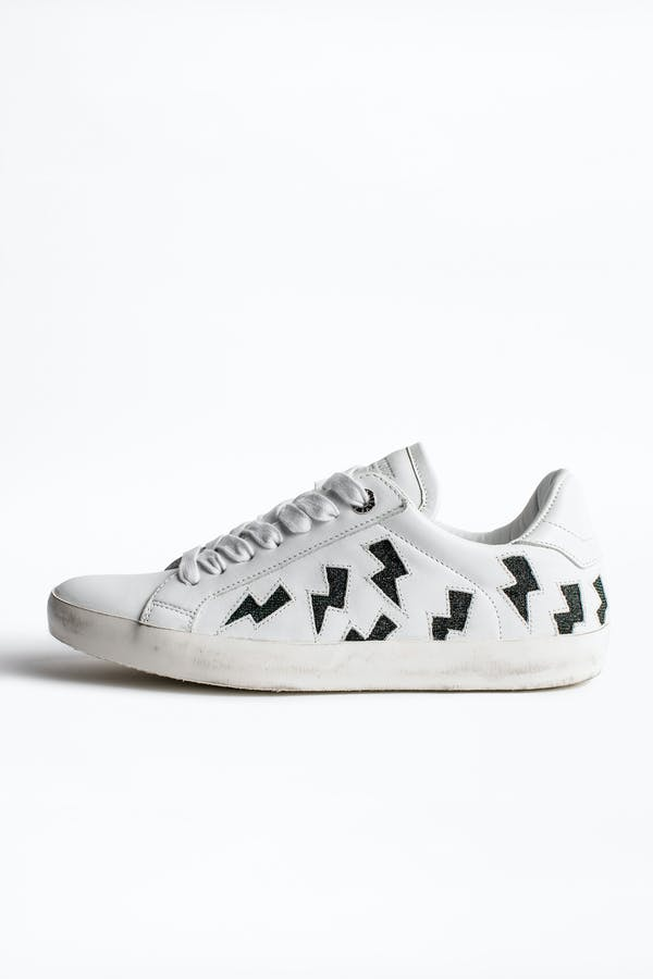 Zadig Flash Lurex Sneakers
