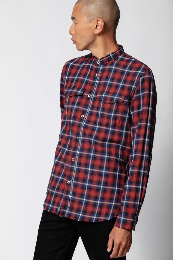 Torrol Check Grunge Shirt