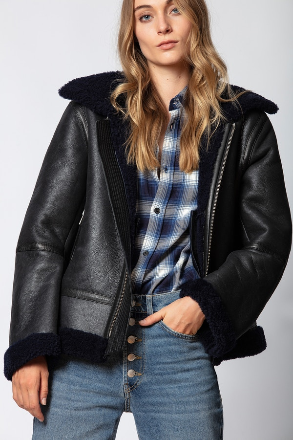 Kafe Shearling Jacket