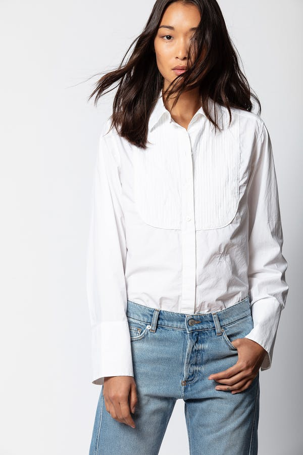 Chic Crinkle Show Shirt