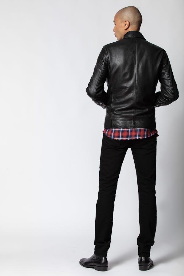 Lam Cuir Washed Jacket