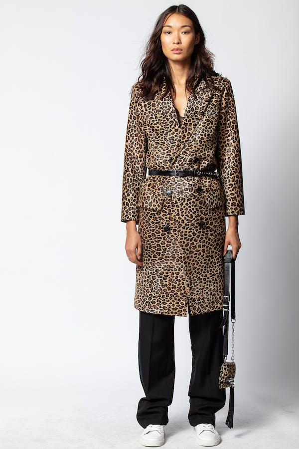 Minty Leo Coat