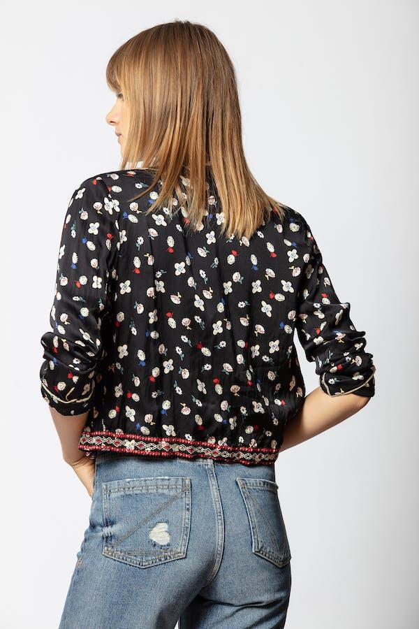 Vendrix Flower Grunge Jacket