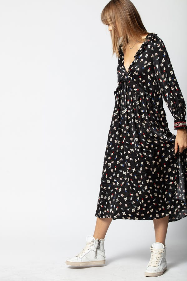 Reacty Flower Vintage Dress