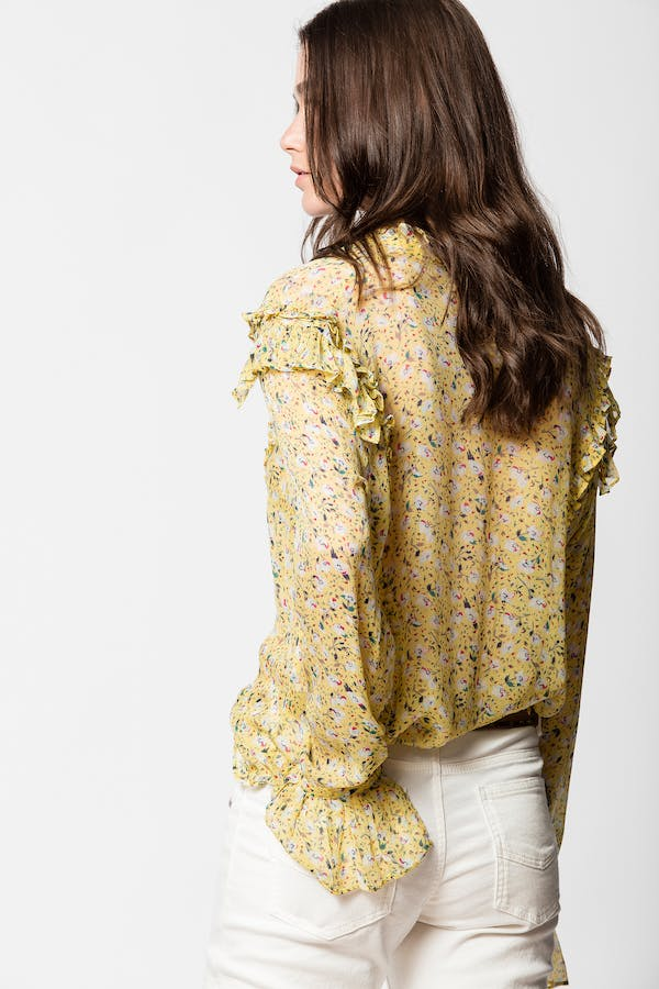 Tweet Anemone Blouse