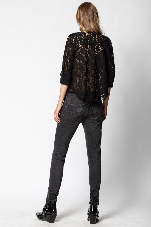 Touch Lace Tunic