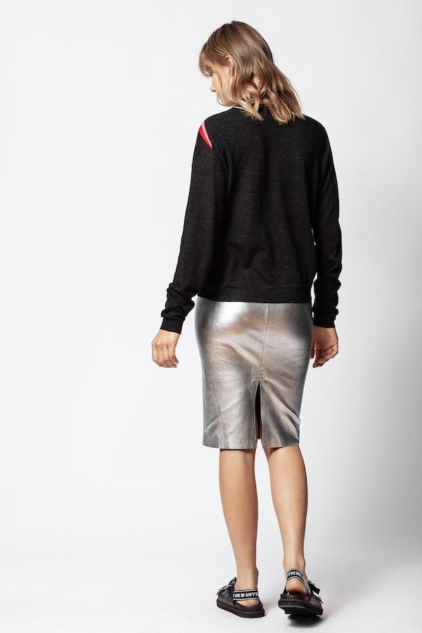 Jaden Silver Skirt