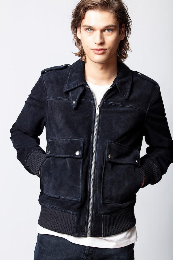 Leonard Suede Show Jacket