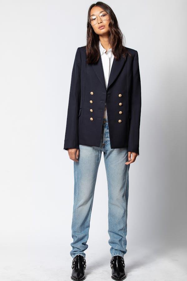 D-Viggo Wool Coat