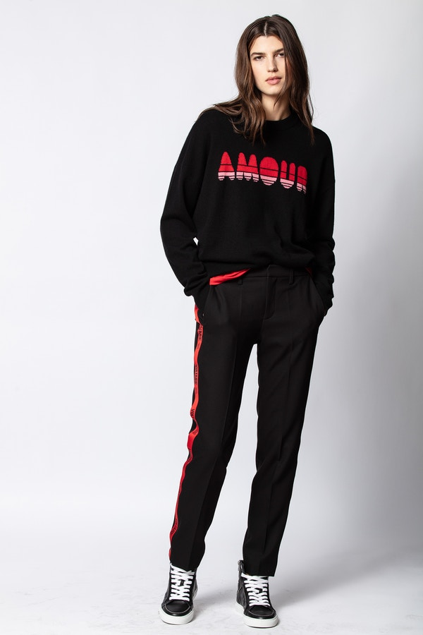 Gaby Cashmere Amour Sweater