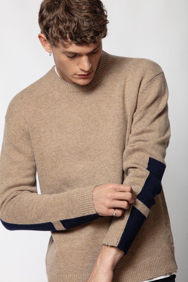 Raphael Patch Sweater