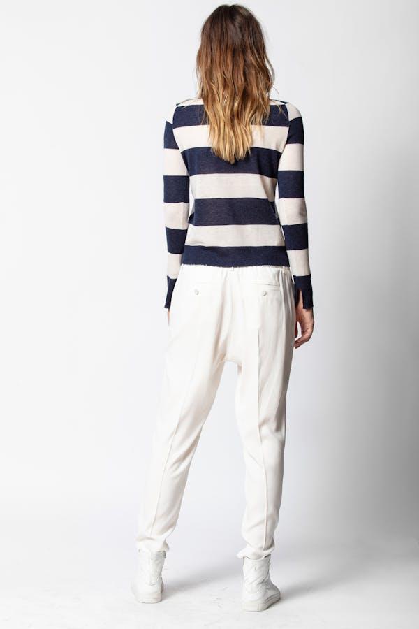 Source Cashmere Stripes Sweater