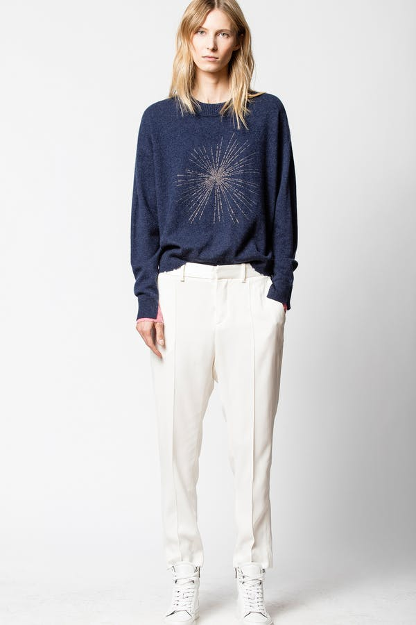 Gaby Solar Cashmere Sweater