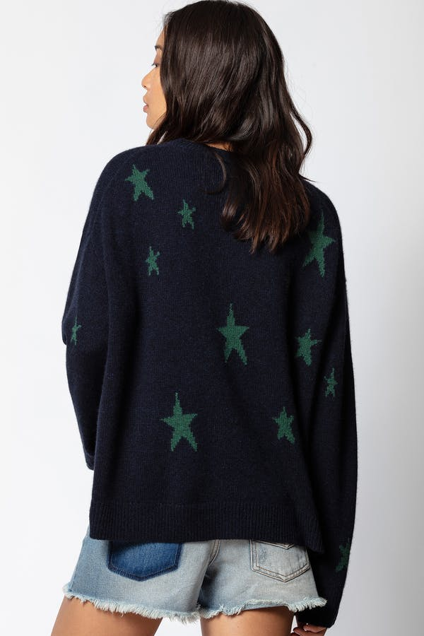 Markus cashmere Star Sweater