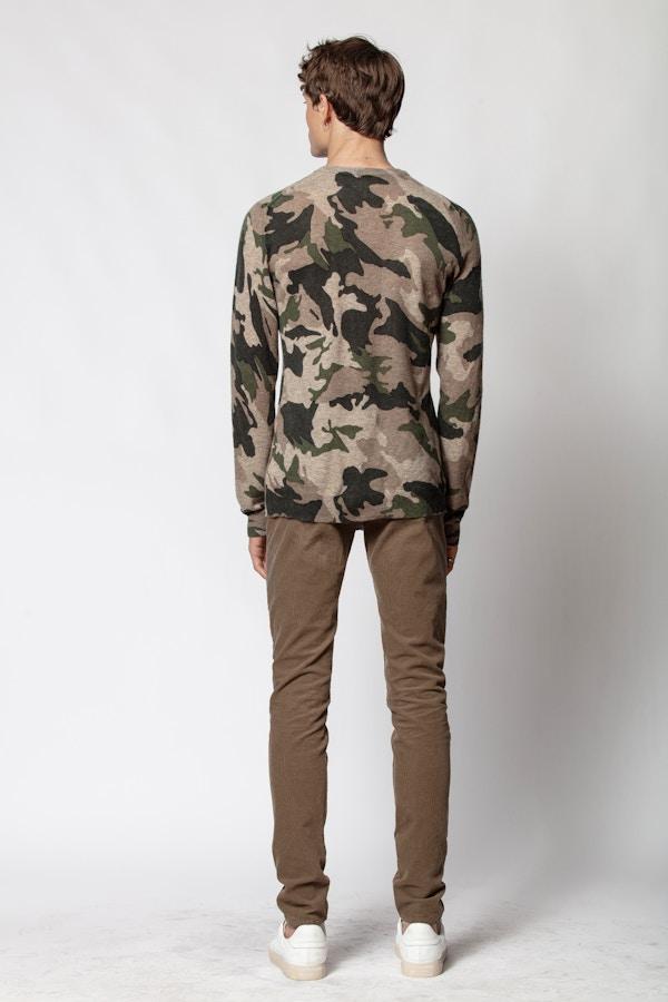 Kennedy Camou Sweater
