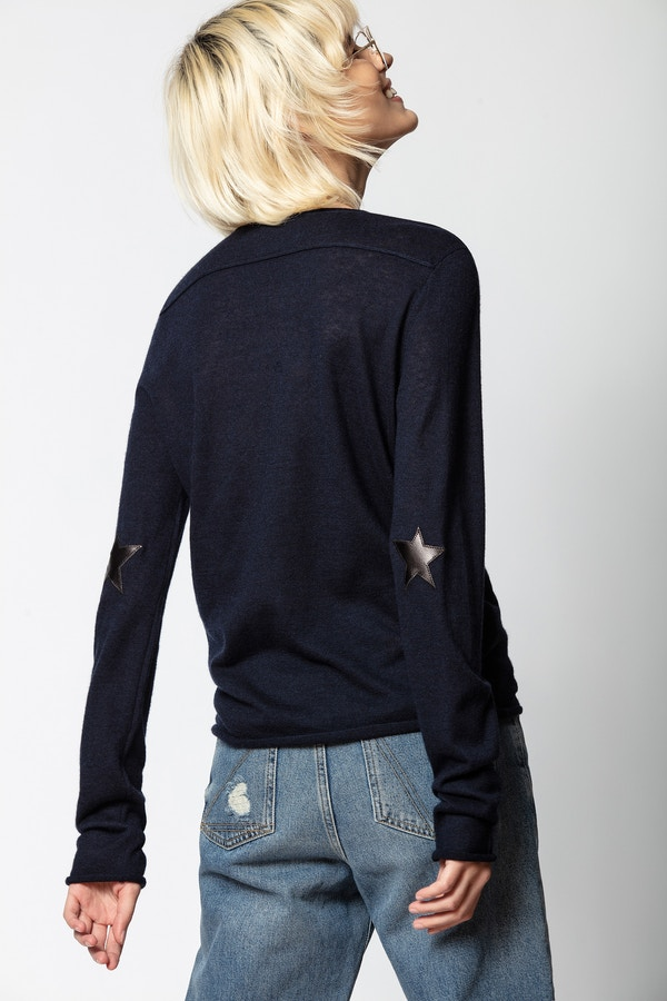 Tessa Cachemire Star Patch Sweater