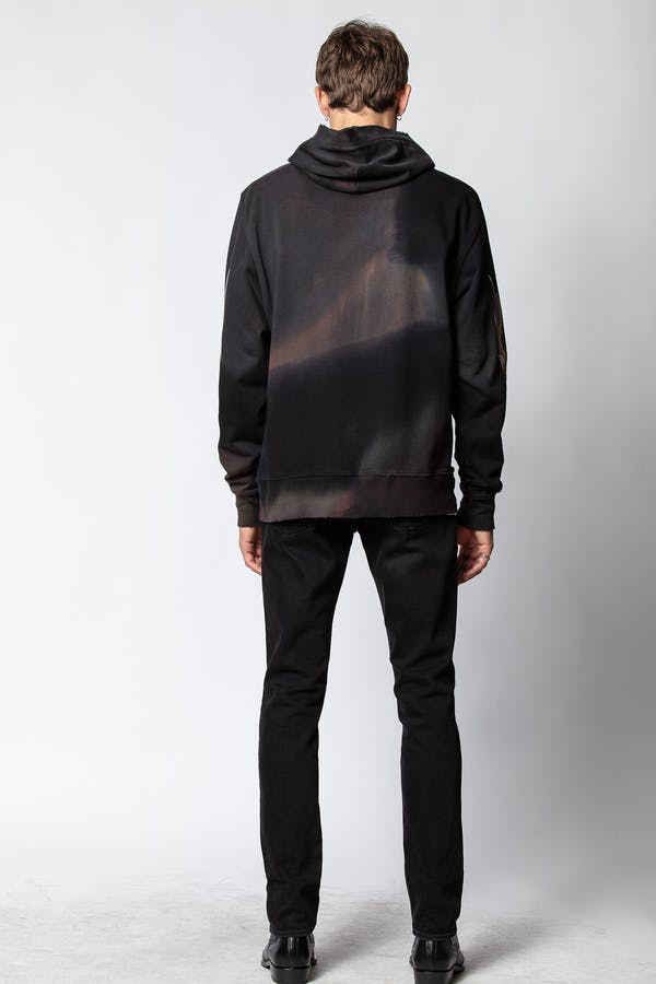 Sanchi Black Scorpion Sweatshirt